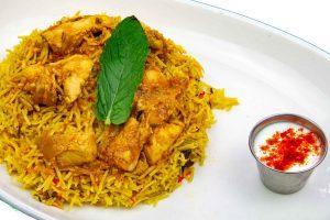 Biryani - Hyderabadi Chicken Biryani - Glory Of India