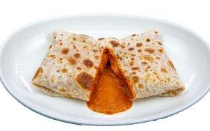 Stuffed Roti With Tikka Masala - Glory Of India