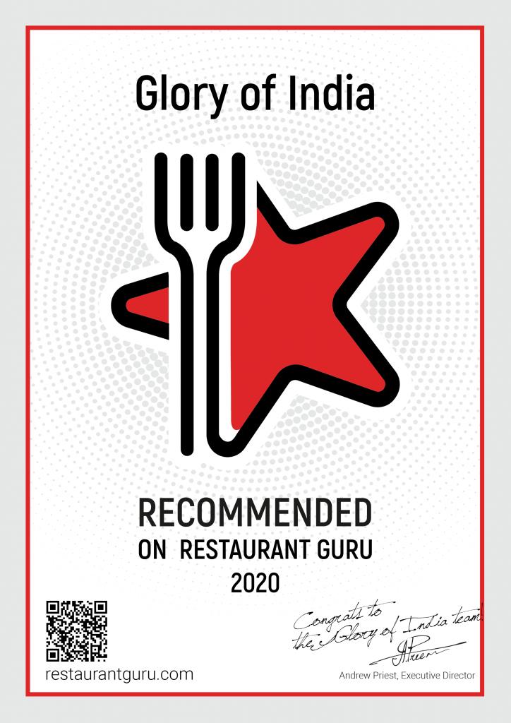Restaurant Guru - Glory of India